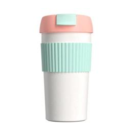 Термосы и термокружки - Термокружка Xiaomi KKF Rainbow (S-U45C) Pink-Mint, 0