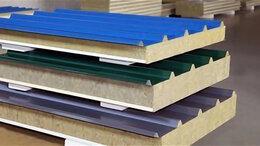 Фасадные панели - сэндвич панели 3-х слойные, 0