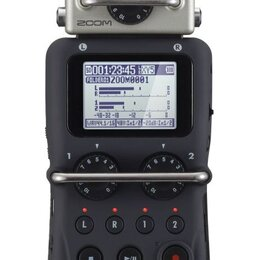 Микрофоны - ZOOM H5 цифровой стереорекордор USB, 0
