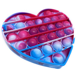 Игрушки-антистресс - POP IT Игрушка-антистресс сердце, 0