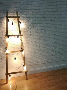 Уличное освещение - Новая Ретро-гирлянда винтажная из ламп накаливания, 0