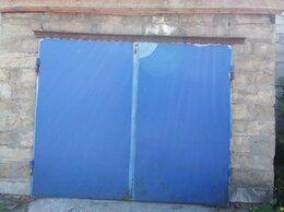 Заборы и ворота - Ворота гаражные металлические, 0