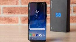Мобильные телефоны - Samsung galaxy S8 64gb Оригинал Магазин  Доставка , 0