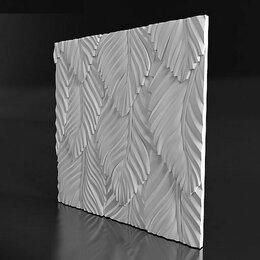 """Стеновые панели - 3D панель """"Liste"""" (Листья), 0"""