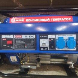 Электрогенераторы и станции - Генератор бензиновый 5.5кв, 0