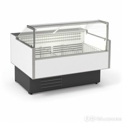 CRYSPI Витрина морозильная CRYSPI Gamma Quadro M 1200 LED (без боковин) по цене 72490₽ - Мебель для учреждений, фото 0