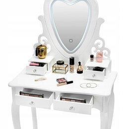 Столы и столики - Столик косметический с зеркалом LED, 0