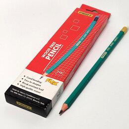 """Канцелярские принадлежности - Набор чернографических карандашей """"PROFF"""" с ластиком, 0"""