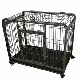 Клетки и домики  - Клетка на колесах Duvo+ Heavy Duty Crate для живот, 0