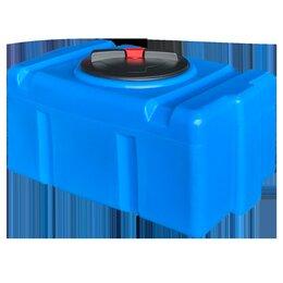 Баки - Пластиковый бак 150 литров. Прямоугольный. Горизонтальный., 0