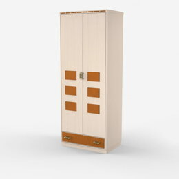 Шкафы, стенки, гарнитуры - Шкаф Кэри Голд 2-х дверный, 0