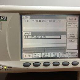Лабораторное и испытательное оборудование - СВЧ Генератор Anritsu MG3692B до 20ггц с опциями 1B и 4, 0