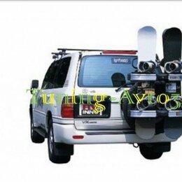 Аксессуары и комплектующие - Крепление для лыж/сноубродов на запасное колесо (4 пары лыж/ 4 сноуброда), 0