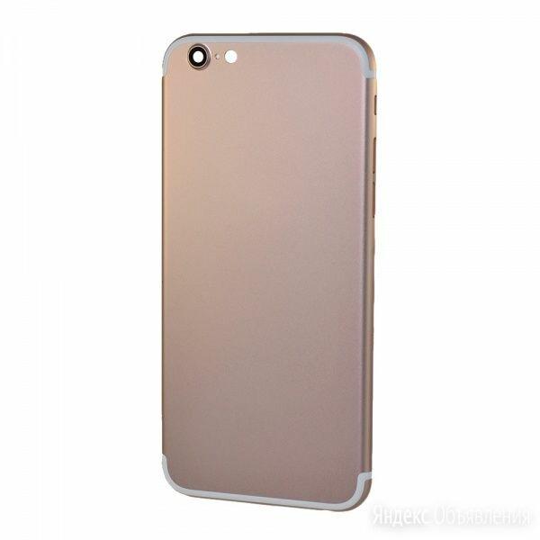 Корпус iPhone 6 розовый (дизайн iPhone 7) по цене 1690₽ - Корпусные детали, фото 0