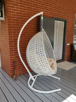 Подвесные кресла - Подвесное кресло, кресло из ротанга, кресло-кокон, 0