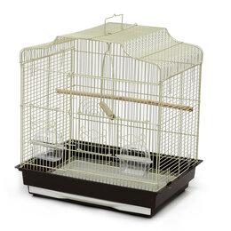 Клетки и домики - N1 Клетка для птиц, 47*36*50,6, фигурная, укомплектованная., 0