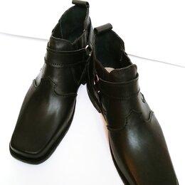 Ботинки - Чопперы. Новые. Обувь ручной работы.45 размер, 0