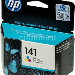 Картриджи - катридж для струйного принтера HP 141 цветной , 0