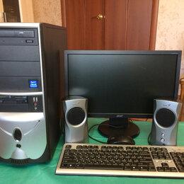 Настольные компьютеры - Компьютер полный комплект для работы и учёбы, 0