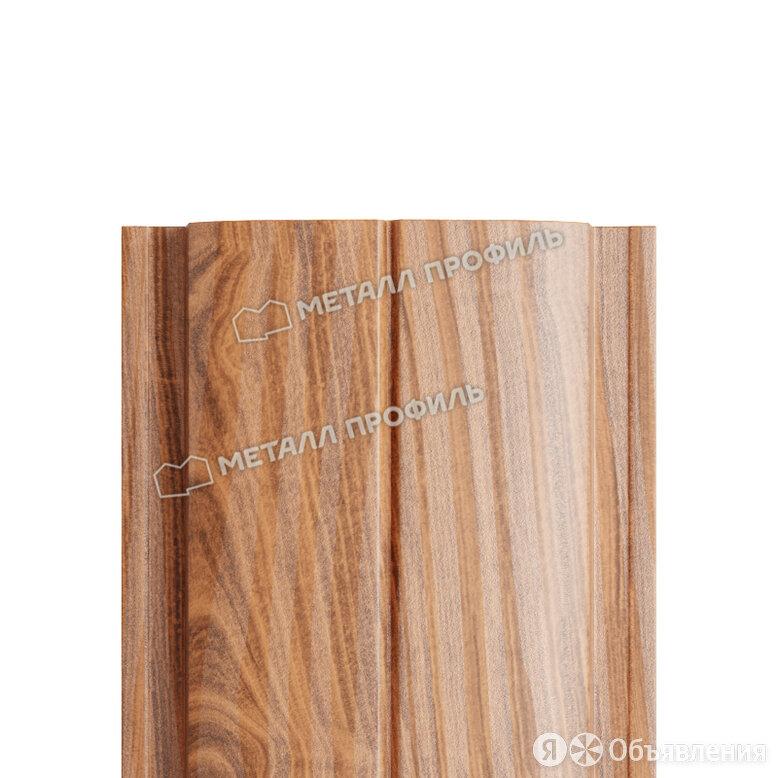 Штакетник металлический МП ELLIPSE-T 19х126 (ECOSTEEL_T-01-Кедр-0.5) по цене 160₽ - Заборы, ворота и элементы, фото 0