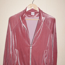 Костюмы - Велюровый костюм (верх) chic sport by argent 46-48 размер, 0