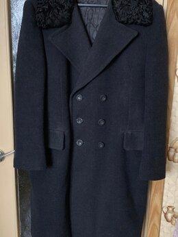 Пальто - Винтажное драповое мужское зимнее пальто. СССР, 0