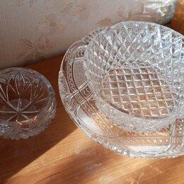 Блюда и салатники - Хрусталь ваза рюмка стакан, 0