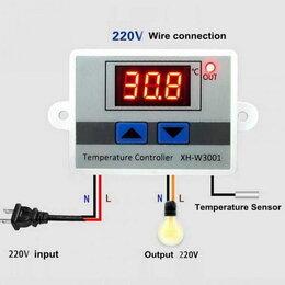 Электрический теплый пол и терморегуляторы - Электронный термостат XH-W3001 12 В, 220 В, 0