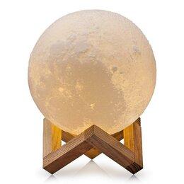 Ночники и декоративные светильники - Ночник с Bluetooth колонкой «Луна», 0