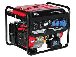 Электрогенераторы - Генератор бензиновый Elitech СГБ 8000ЕАМ, 0