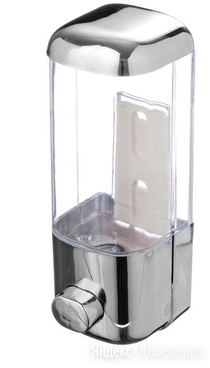 Дозатор для жидкого мыла, настенный 500мл  по цене 300₽ - Мыльницы, стаканы и дозаторы, фото 0