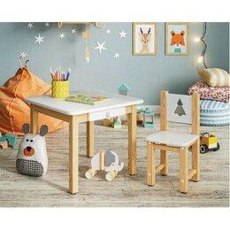 Столы и столики - Комплект Детский столик и стульчик, 0