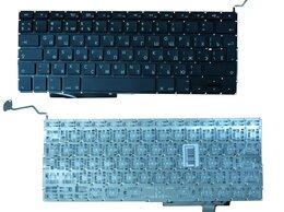 Аксессуары и запчасти для ноутбуков - Клавиатура для Apple MacBook Pro 17 A1297, 0