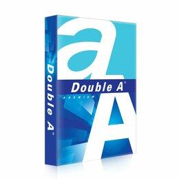 Бумага и пленка - Бумага офисная для принтера А4 «А» класс DOUBLE…, 0