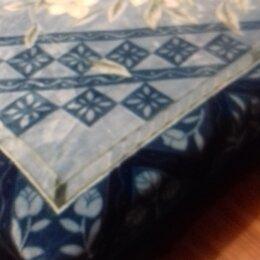 Пледы и покрывала - Плед на 2-х спальную кровать. НОВЫЙ, 0