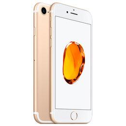 Мобильные телефоны - 🍏 iPhone 7+ 128Gb gold (золотой) , 0