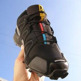 Кроссовки и кеды - Мужские Кроссовки Salomon Speedcross 3 Black, 0