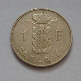 Монеты - 1 франк Бельгия 1963, 0