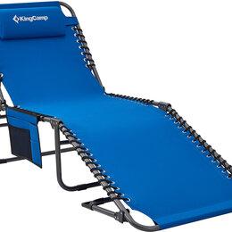 Походная мебель - Шезлонг складной KING CAMP (алюм.) 3913 Adjustable Camping Cot , 0