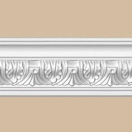 Лепнина - Плинтус с орнаментом Decomaster 95622 FLEX, 0