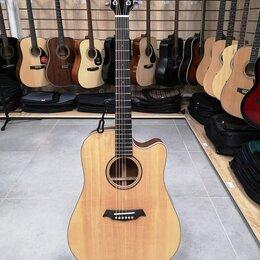 Акустические и классические гитары - Электро-акустика Parkwood S26-GT с чехлом, 0