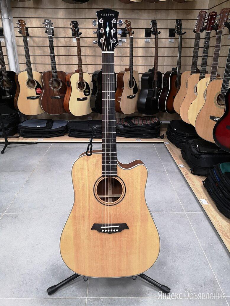 Электро-акустика Parkwood S26-GT с чехлом по цене 26900₽ - Акустические и классические гитары, фото 0