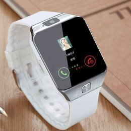 Умные часы и браслеты - Умные часы Dz 09 White. Новые, 0