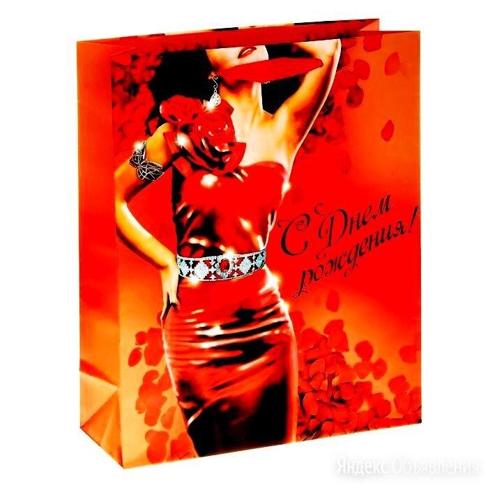 """Пакет """"С Днем Рождения"""" по цене 30₽ - Подарочная упаковка, фото 0"""