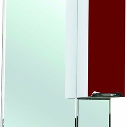 Зеркала - Зеркало-шкаф Bellezza Альфа 65 R красный, 0