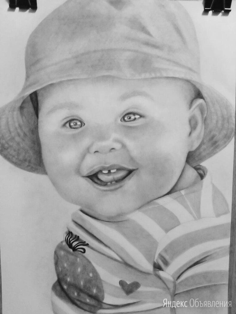 Портрет по фото простым карандашом.  по цене 1000₽ - Дизайн, изготовление и реставрация товаров, фото 0