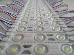 Светодиодные ленты - Светодиодный модуль с линзой smd 2835 3 leds , 0