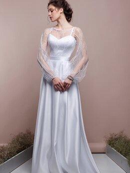 Платья - Атласное непышное свадебное платье Ладена размер…, 0