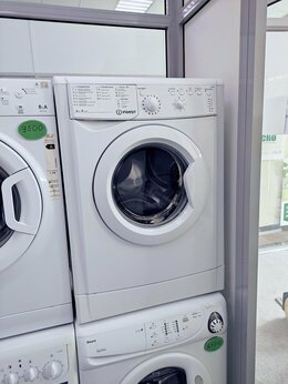 Стиральные машины - узкая стиральная машинка на 4кг INDESIT, 0