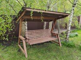 Садовые качели - Качели садовые деревянные, 0